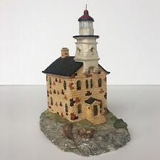 Great Captain Island Ct #114 Harbour Lights 1991 | Ltd Ed. Signed B. Younger