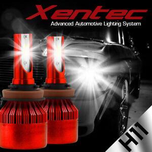 H11 LED Headlight 6000K White 388W 38800LM Conversion Kit Low Beam High Power