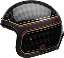 New 2020 Bell Custom 500 Carbon Helmet DOT Mens Women Motorcycle Retro Street