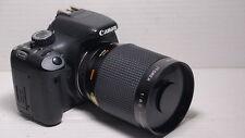 LENTE 500 MM = 750 mm su Canon Digital 10D 70D per la fotografia della fauna selvatica 100D 1100D 5