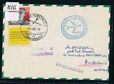 06466) klm FF amsterdam-ammán jordania 30.4.60, a partir de kTe RDA ZD, SST Glider