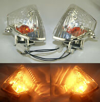 Rear Turn Signals Indicator Blinker Light Clear 2005-2006 SUZUKI GSXR 1000 K5 #4