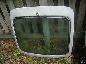 TRIUMPH GT6 REAR HATCH & GLASS With DEFROSTER