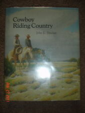 1ST ED BOOK SINCLAIR SIGNED COWBOY RIDING COUNTRY
