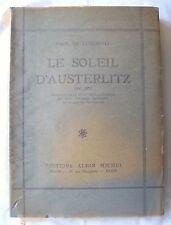 LE SOLEIL D'AUSTERLITZ / PAUL DE CLERMONT / EMPIRE NAPOLEON