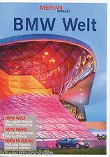 Bmw mundo Merian Special 2009 2010 brochure auto folleto folleto auto turismos
