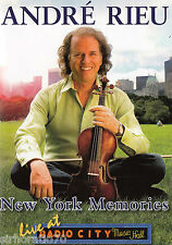 Andre RIEU New York Memories  / Live At Radio City DVD / All Zone NEW   SirH70