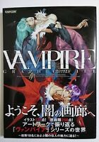 VAMPIRE HUNTER DARKSTALKERS GRAPHIC FILE  ART BOOK Japan Limited Used