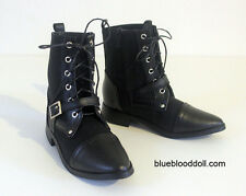 1/3 bjd Iplehouse EID HID male doll huge size black short boots shoes ship US