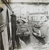 Italia Venezia Foto Stereo Placca Da Lente VR1