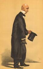 "VANITY FAIR SPY CARTOON. Sir John D. Coleridge ""un aumentato barrister"". diritto. 1870"