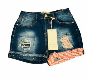 NWT Blue Savvy High Rise Jean Denim Short