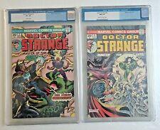 LOT OF 2 MARVEL DOCTOR STRANGE  CGC #3 (9/1974) 8.5 & #6  (2/1975) 9.4