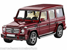 MERCEDES Benz W 463 G Classe 2015 LWB ROSSO 1:18 NUOVO OVP