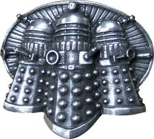 Doctor Who Belt Buckle Dalek Trio in Pewter OFFICIAL PRODUCT