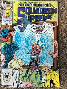 Squadron Supreme #5 (Marvel, January 1986) NM (9.4)