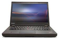"Lenovo ThinkPad T440p 14"" Intel i7 8GB RAM 500GB HDD WiFi Win 10 B Grade Laptop"