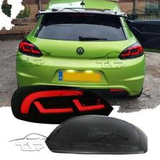 REAR LED TAIL LIGHT BAR SMOKE FOR VW SCIROCCO 08-14 LAMP NEW