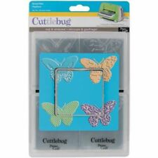 Provo Craft Cuttlebug A2 Tag Team Dies, Butterflies, 4 Styles