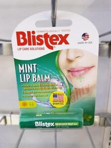 BLISTEX LIP CARE SOLUTIONS MINT LIP BALM MOISTURE AND SUN PROTECT SPF15 4.25G