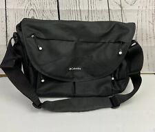 Columbia Outfitter Unisex Black Messenger Cross Body Baby Diaper Bag