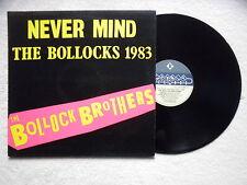 "LP BOLLOCK BROTHERS ""Never Mind The Bollocks 1983"" CHARLY RECORDS BOLL 101 UK §"