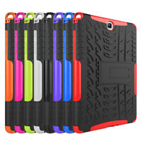 "Hybrid Shockproof Rugged Hard Case Cover For Samsung Galaxy Tab A 9.7"" T550 T555"