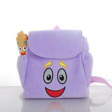 New High Quality Dora the Explorer Children Backpack+Map Toy Doll Gift For Girl