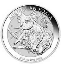 Silbermünze Australien 2018 Koala 1 oz Unze Silber (31,1 g Feinsilber)