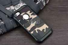 Military Camouflage Camo Defender Armor Case For iPhone X 4s 5S SE 6 6S 7 8 Plus
