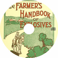 DuPont's Farmers Handbook of Explosives (1911) Catalog Book on CD