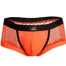 Hombre Calzoncillo De Malla Tankini Transparente Boxers Para Los Hombres S-XL