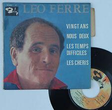 """Vinyle 45T Leo Ferre """"Vingt ans"""""""