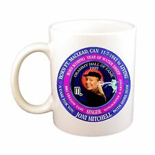 Joni Mitchell Singer 11 Oz Cup, Astrology Scorpio Zodiac Water Sheep
