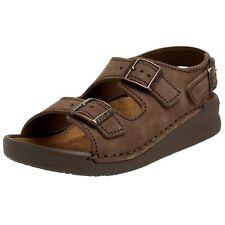 Birkenstock Nebraska Sandalen Nubukleder mit normalem Fußbett Gr.36 Neu