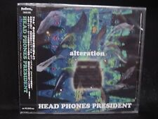 HEAD PHONES PRESIDENT Altercation JAPAN CD Youthquake Hellchild Volcano Jurassic