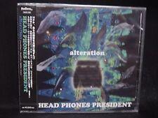 HEAD PHONES PRESIDENT Altercation JAPAN CD Youthquake Hellchild Volcano Jurassic