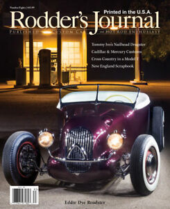 No. 80 RODDER'S JOURNAL Eddie Dye Roadster   Newsstand Cover B