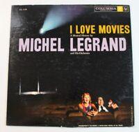 Michel Legrand And His Orchestra – I Love Movies, vinyl LP, Columbia