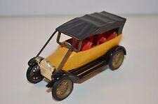 Gama 1191 Fiat mit Verdeck 1911 gelb 1:45 Modellfahrzeug Oldtimer 99.9% mint OVP