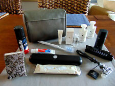 Emirates First Class Gent's BVLGARI amenity KIT TROUSSE NECESER Cultura Sacchetto