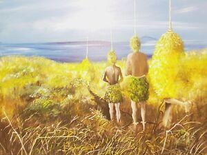Papua New Guinea Art -By Artist Paul Brian
