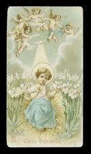 antico santino cromo-holy card ediz.AR n.140 b GESU' BAMBINO