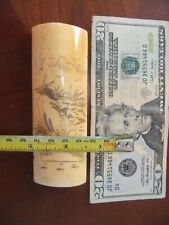 For Pendant Or Belt Series [Nudes Great Scrimshaw one Panel With Figures