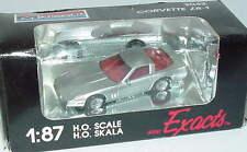 1:87 Chevrolet Corvette ZR-1 argent argent métallique - Monogram 2042