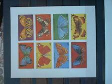 GUINEA - ungezähnt ! Schmetterlinge, Falter INsekten Exoten - seltene DRUCKPROBE