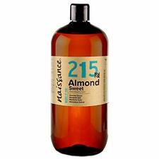 Naissance Huile Amande Douce  215 1 litre 100% naturelle  végan sans OGM inodore