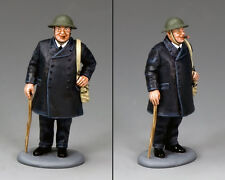 "King and Country WW2 ""Blitz"" Churchill D DAY DD271"