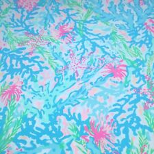 """Coral Bay ~ Lilly P Polyester Fabric ~ 1 yard x 56"""""""