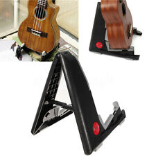 Portable Support ABS Violin Ukulele Mandolin Children Guitar Stand Holder Black